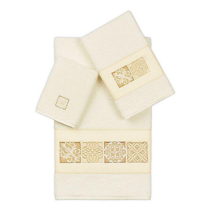 Alternate image 1 for Linum Home Textiles Vivian Bath Towel Collection