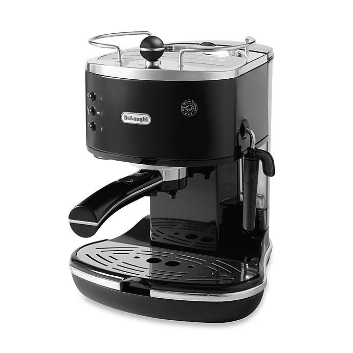 Alternate image 1 for De'Longhi Pump ECO310BK Icona Espresso Maker in Black
