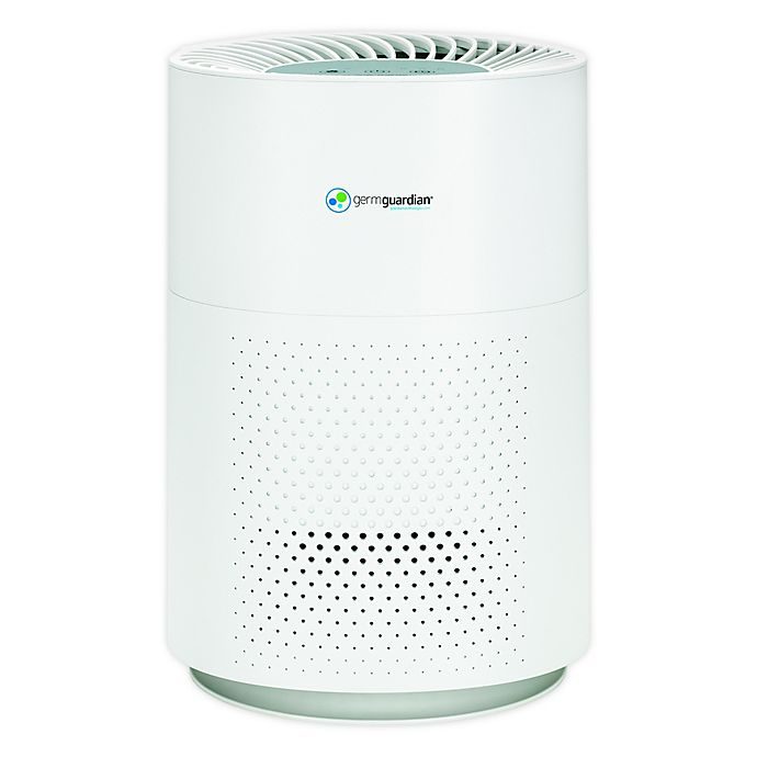 Alternate image 1 for Germguardian® AC4200W HEPA Filter & Carbon Filter Air Purifier in White