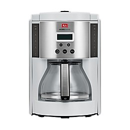 Melitta® Aroma Enhance 10-cup Glass Carafe Coffee Maker in White