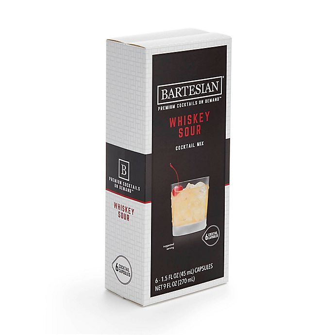 Alternate image 1 for Bartesian® Whiskey Sour Cocktail Mix
