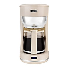 Kalorik 10-Cup Retro Coffee Maker in Cream