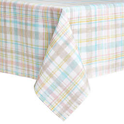 Spring Medley Plaid 60-Inch x 120-Inch Tablecloth