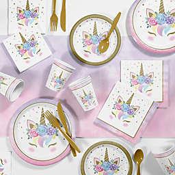 Creative Converting™ 81-Piece Unicorn Baby Birthday Party Supplies Kit