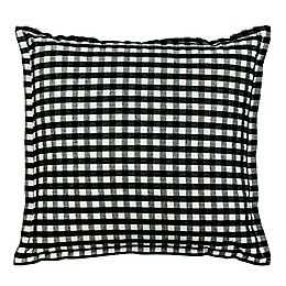 Gingham Plaid Square Throw Pillows (Set of 2)