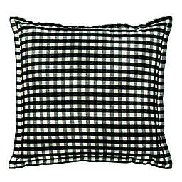 Gingham Plaid Square Throw Pillows (Set of 2)