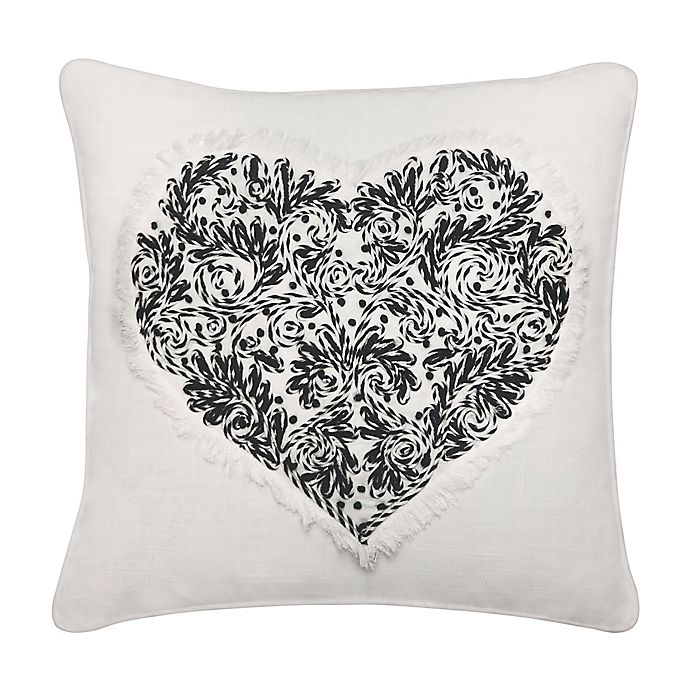 Alternate image 1 for Heart Square Throw Pillow