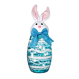 Home Essentials & Beyond LED-Lighted Easter Bunny in Blue