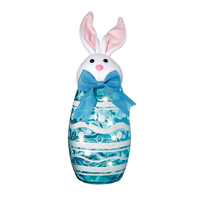 Alternate image 1 for Home Essentials & Beyond LED-Lighted Easter Bunny in Blue