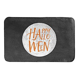 HAPPYHALLOWEEN FULL MOON 34X21BATH MAT