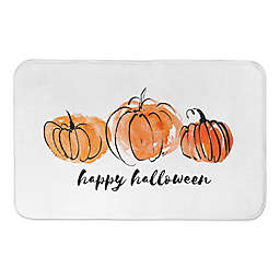 HAPPYHALLOWEENPUMPKINS 34X21BATH MAT