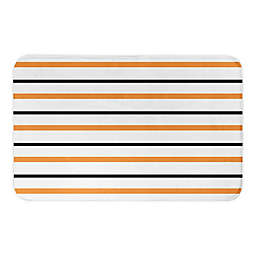 HALLOWEEN STRIPES 34X21BATH MAT