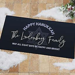 Happy Hanukkah Personalized Doormat Collection
