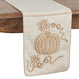 Saro Lifestyle Calabaza Collection 72-Inch x 13-Inch Table Runner in Natural