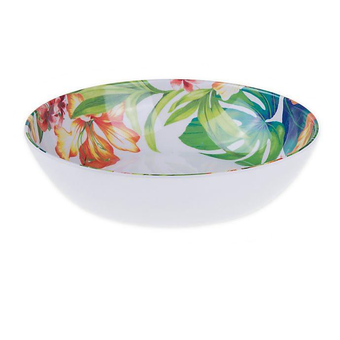 Alternate image 1 for Tropical Palm Melamine Salad Bowl