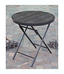 Mesa bistró plegable para patio en café