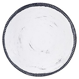 Italica Shallow Melamine Bowl in White