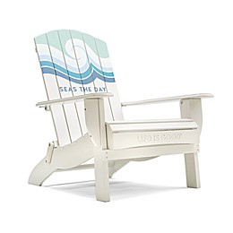 Life is Good® Adirondack Folding Chair in White