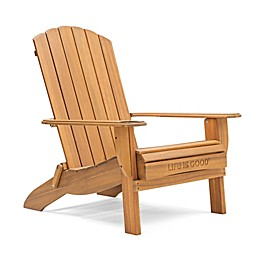 Life is Good® Adirondack Folding Chair in Natural