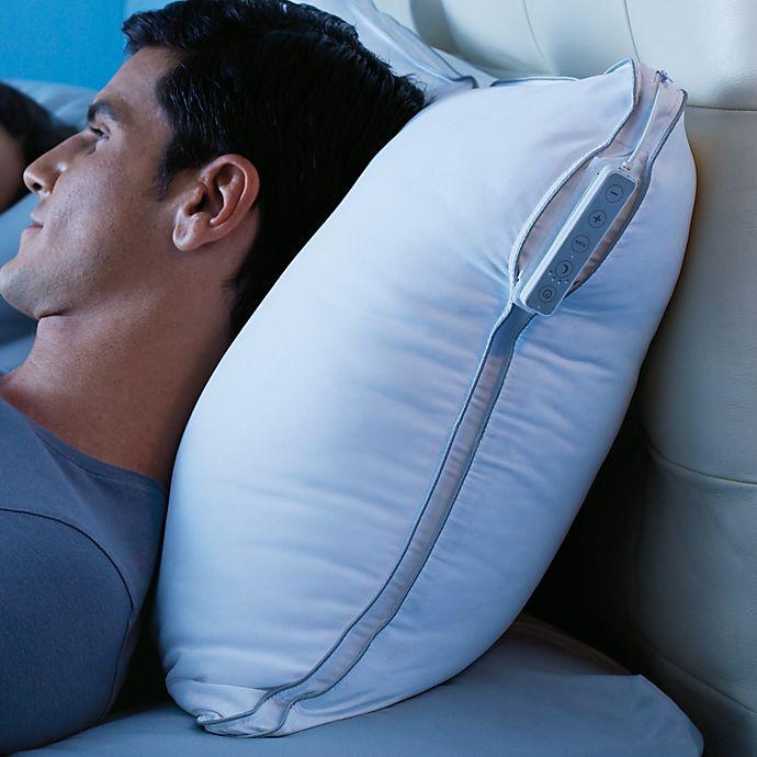 Brookstone 174 Softsound 174 Memory Foam Pillow Bed Bath Amp Beyond