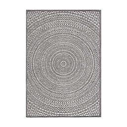 Orian Rugs Cerulean Silverton 6'6 x 9'6 Indoor/Outdoor Area Rug