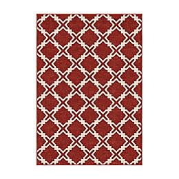 Orian Rugs Ironwood Indoor/Outdoor Area Rug in Red