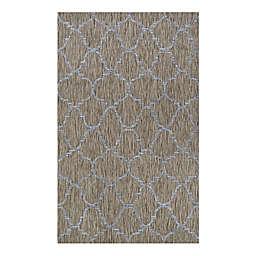 Couristan® Charm Thornbury Indoor/Outdoor Area Rug in Sand/Ivory