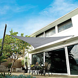 Coolaroo® Premium 16-Foot 4-Inch x 16-Foot 4-Inch Triangle Shade Sail Kit