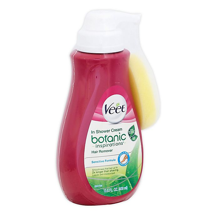 Veet Botanic Inspirations In Shower Cream Hair Remover Bed Bath
