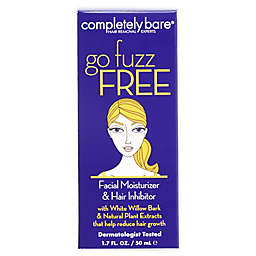 completely bare® go fuzz free Facial Moisturizer & Hair Inhibitor