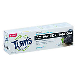 Tom's of Maine® 4.7 oz. Activated-Charcoal Peppermint Whitening Toothpaste