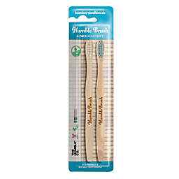 The Humble Co® Humble Brush 2-Pack Adult Soft Bamboo Toothbrush