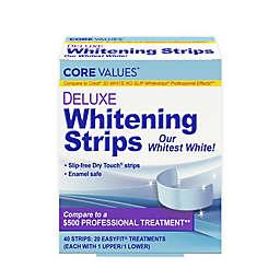 Harmon® Core Values™ Deluxe Whitening Strips