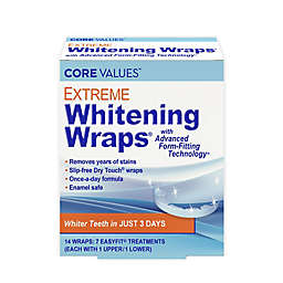 Harmon® Core Values™ Extreme Whitening Wraps with Advanced Form-Fitting Technology