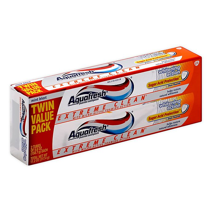 Aquafresh® 2-Pack 5.6 oz. Extreme Clean Whitening Action ...