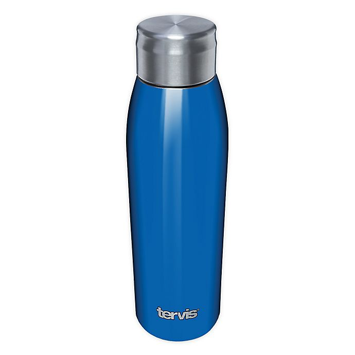 Alternate image 1 for Tervis® 17 oz. Stainless Steel Water Bottle with Lid