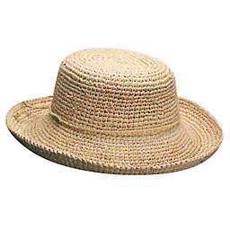 Scala™ Crocheted Raffia Hat in Natural