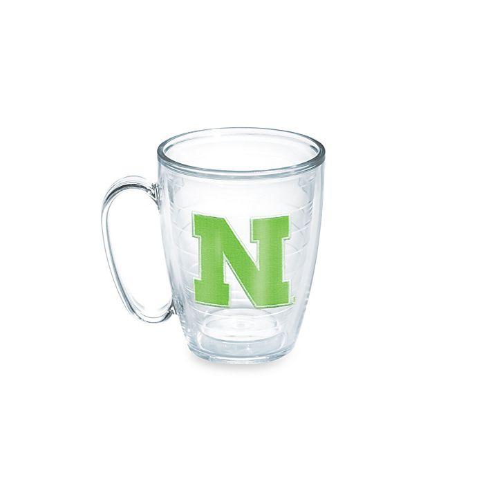Alternate image 1 for Tervis® University of Nebraska Cornhuskers 15-Ounce Emblem Mug in Neon Green