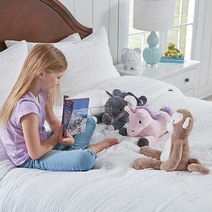 Alternate image 1 for Therapedic® 6 lb. Kids Weighted Blanket with Plush Toy