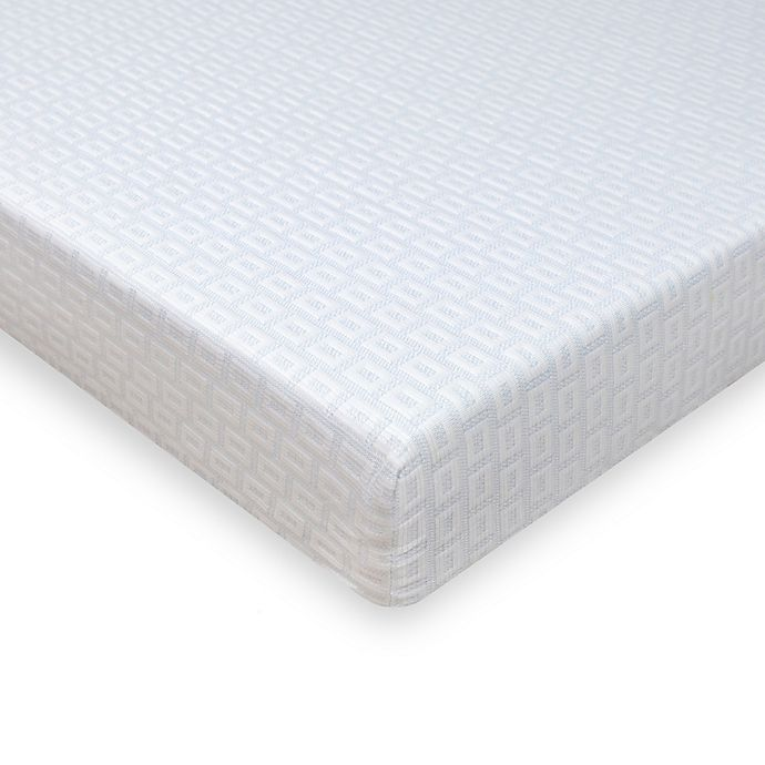 Alternate image 1 for SensorPEDIC SensorCOOL Elite Cooling 4-Inch Memory Foam Queen Mattress Topper