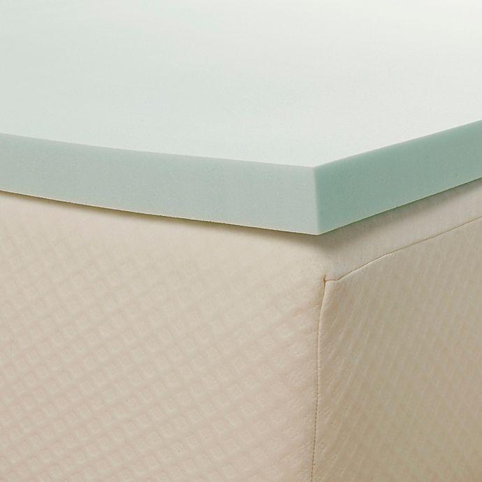 Alternate image 1 for Comfort Tech™ Serene Foam 2-Inch King Mattress Topper