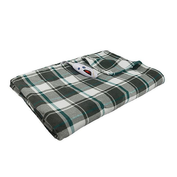 Biddeford Blankets Micro Plush Heated Throw Blanket Bed Bath Beyond