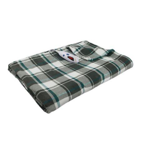 Biddeford Blankets Micro Plush Heated Throw Blanket Bed Bath Beyond