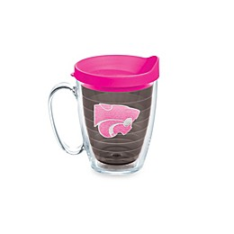 Tervis® Kansas State University Wildcats 15 oz. Colored Emblem Mug with Lid in Neon Pink