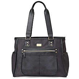carter's® Essence ™ Diaper Tote in Black Heather