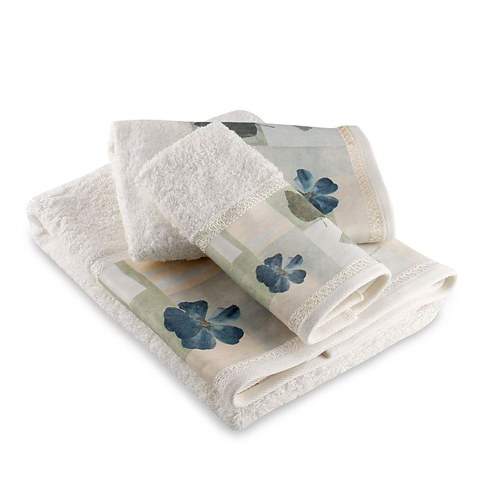 Croscill Hand Towels: Croscill® Spa Leaf Bath Towels