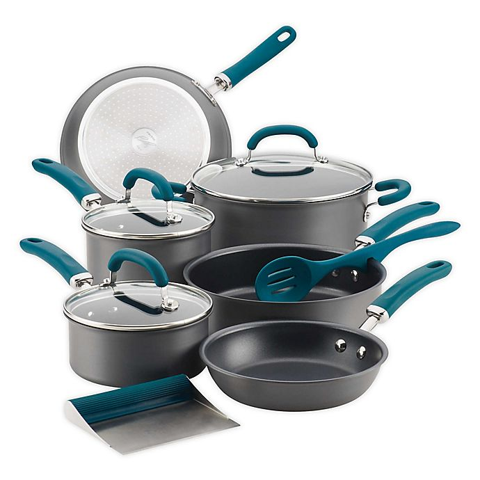 Alternate image 1 for Rachael Ray™ Create Delicious Nonstick Hard-Anodized Cookware Collection