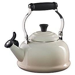 Le Creuset® 1.7 qt. Whistling Tea Kettle in Meringue