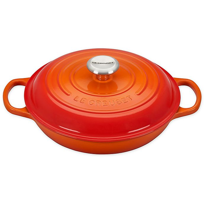 Alternate image 1 for Le Creuset® Signature 2.25 qt. Covered Braiser