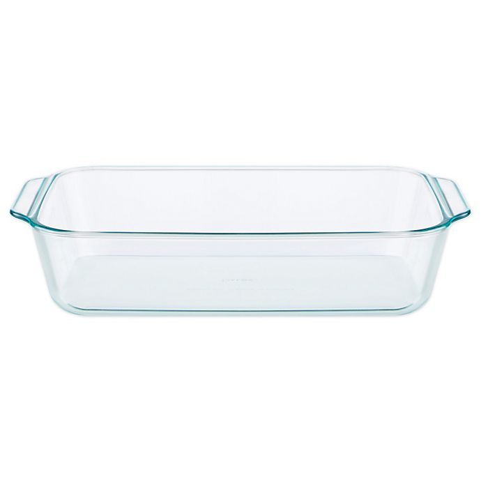 Alternate image 1 for Pyrex® Deep 9-Inch x 13-Inch Rectangular Glass Baking Dish